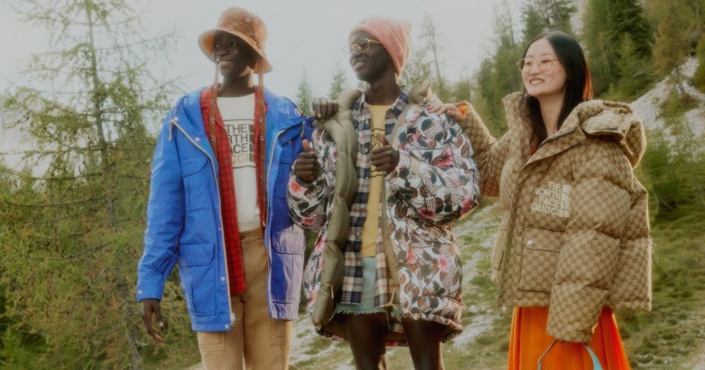 North Face x Gucci Collab Includes Trending Outerwear