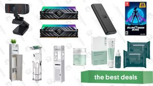 Belei Skincare Sale, Killer Queen Black, 16GB DDR4 XPG RAM, Nintendo Switch Anker Powerbank, 1080p Webcam, Bathroom Organizers, and More