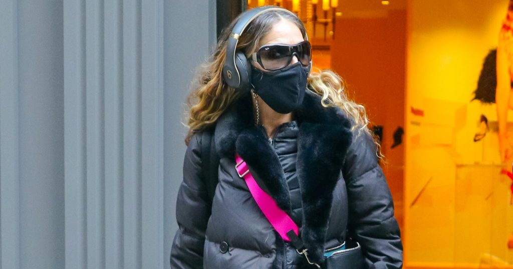 Sarah Jessica Parker Made Long Underwear Look Chic