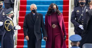 Michelle Obama Purple Inauguration Day Outfit Meaning