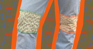 How To Make Patchwork Jeans: 2021 Trend DIY Steps