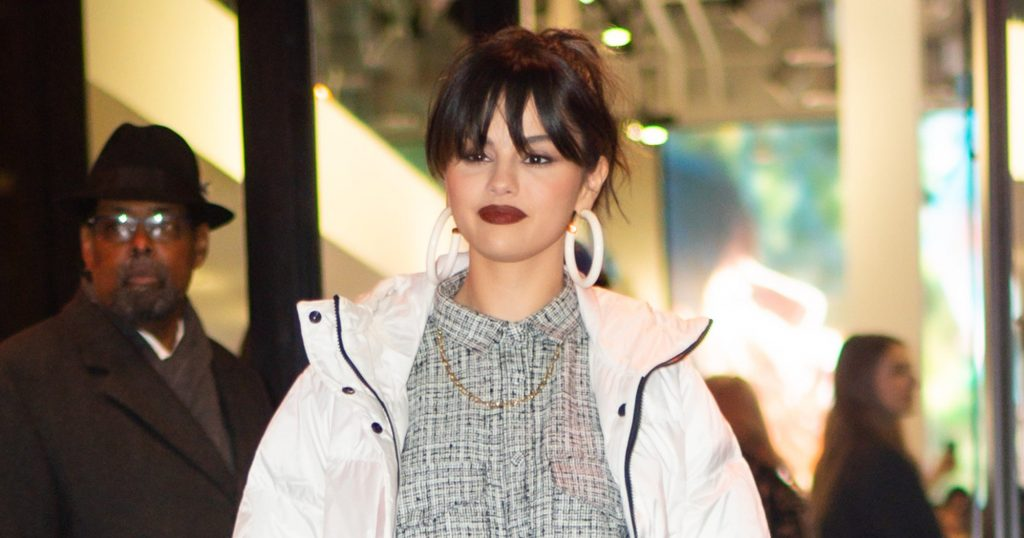 Selena Gomez Wore Sophie Turner-Approved Slipper Boots