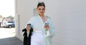 Barbie Ferreira Wore Euphoria Inspired Neon Sandals